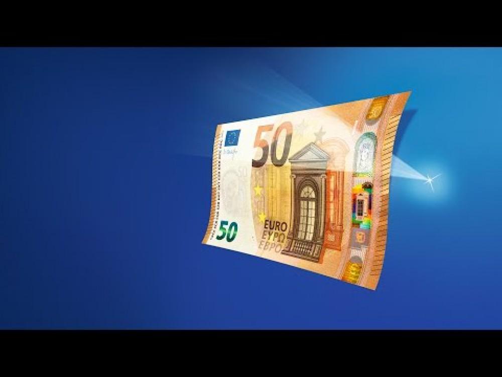 Embedded thumbnail for Uus 50-eurone pangatäht lastakse ringlusse 4. aprillil 2017